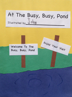 At The Busy, Busy Pond - CD Book